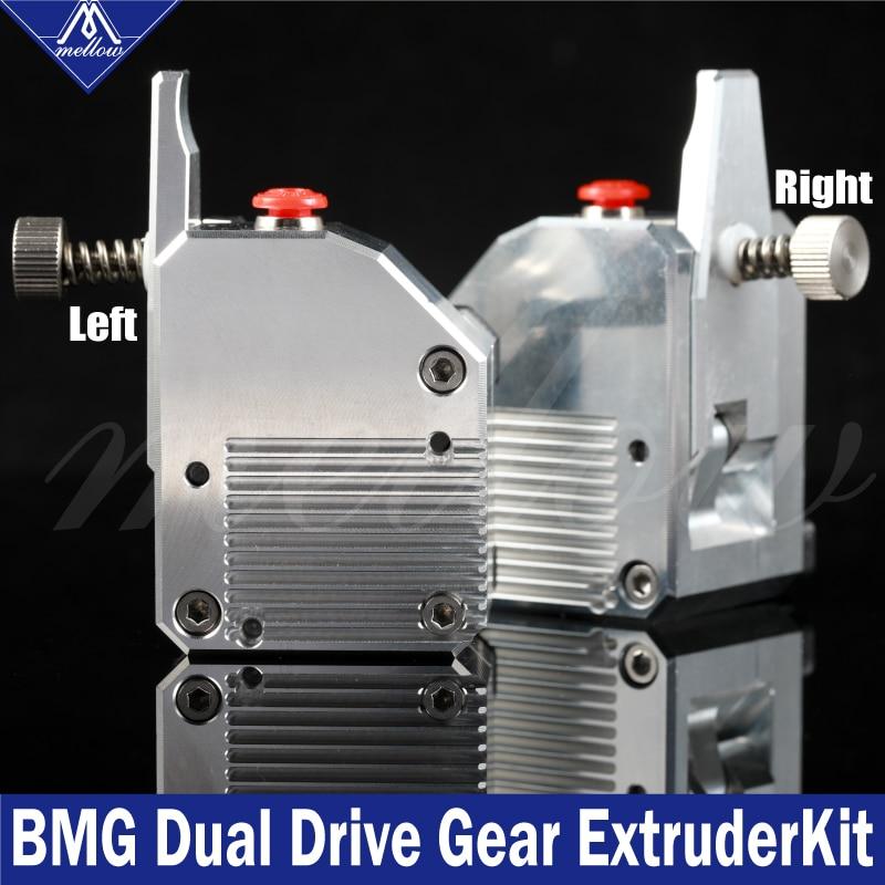 Mellow haute qualité double engrenage tout métal Bmg extrudeuse Bowden double entraînement extrudeuse pour imprimante 3d Mk8 Cr-10 Prusa I3 Mk3 Ender 3 - 2