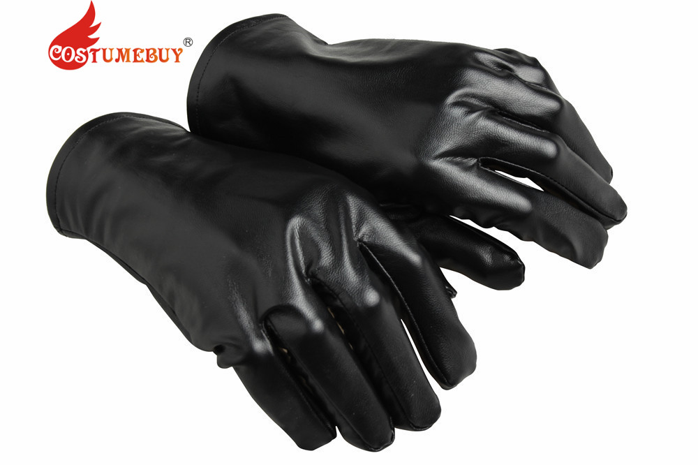 Costumebuy Spider-man black Gloves Cosplay Accessories Halloween Spider-Man Noir Gloves Spider Man Cosplay Props
