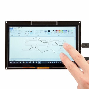 Image 3 - 52Pi Free Driver 7 inch 1024*600 TFT Capacitive Touch Display Screen for Raspberry Pi 4 B All Platform/Windows/Beaglebone Black