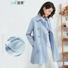 INMAN  2017 new spring loose double breasted trench coat girls long 1863061029 the new 2017 children trench coats girls double breasted trench coat of spring long coat lapels kids
