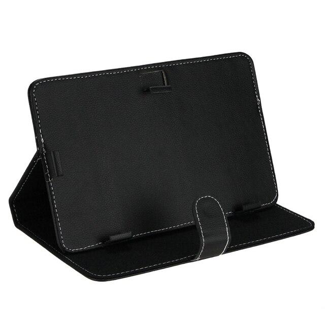 СКС Гаряча Шкіра Папка Чохол Шкірного Покриву Чохол Shell, Tablet Cover, Tablet Чохол Для 9 дюймів Tablet PC (Чорний 9 дюймів)