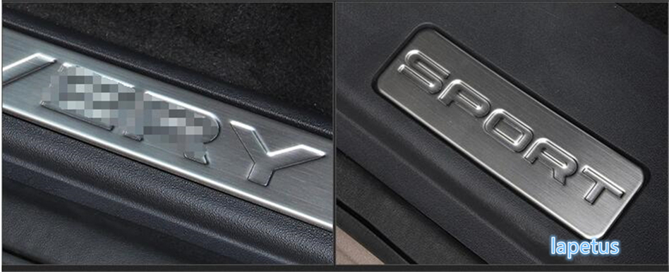 4 pcs New Style For Land Rover Discovery Sport 2015 2016 2017 Stainless Steel Scuff Plate