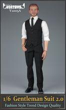 VORTOYS 1 6 Scale Gentleman Suit 2 0 Fashion Style Male Clothes For 12 Man Action