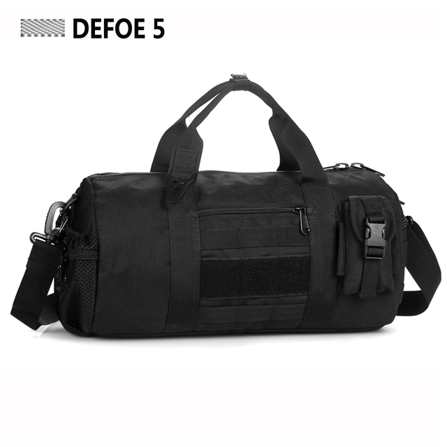 Molle Panel Capacity Fitness Duffle Women Bag Ergonomics Explorer Sport Climbing Survival Police Military Carry