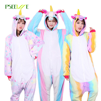 PSEEWE Anime Pajama Sets 26 Style Onesie Halloween Christmas Pyjamas Women Animal Stitch Unicorn Totoro Adult