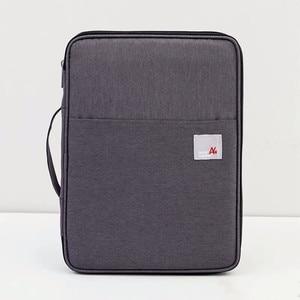 Image 5 - Bolsa de armazenamento multifuncional a4, à prova dágua, organizador de mesa, para laptop e escritório, bolsa com zíper para homens e mulheres