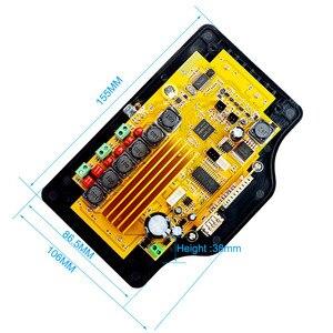 Image 2 - Caisson de basses Bluetooth amplificateur carte 50 W * 2 + 100 W 4.3 pouces LCD Audio Bluetooth récepteur décodeur MP4/MP5 vidéo décodage DC12V