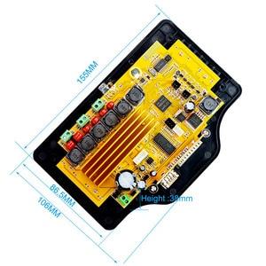 Image 2 - Loa siêu trầm Bluetooth Board Khuếch Đại 50 wát * 2 + 100 wát 4.3 Inch LCD Thanh Âm Thanh Bluetooth Receiver Giải Mã MP4/ MP5 Video Giải Mã DC12V
