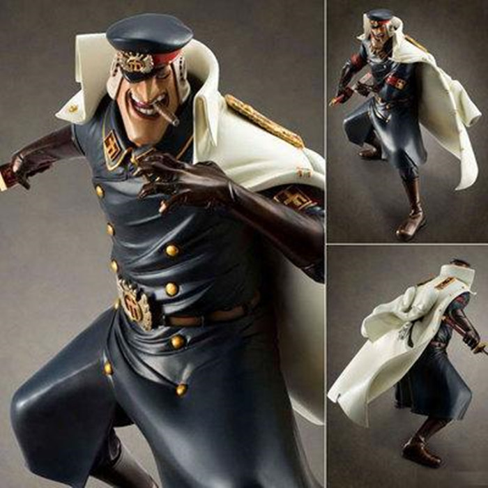 ALEN Japan Anime Action figure ONE PIECE POP Marshall DX Teach 25m model Shiliew of the Rain The Head Jailer toy action figurine pop figurine collection toy figure model doll
