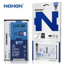 Оригинальные NOHON Аккумулятор Для Samsung GALAXY S5 С. В. G900 G9006V G9008V G9009D Высокая Емкость 2800 мАч Розничной Упаковке