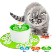 Кошка автоматическая 1.6L подачи домашних животных pet подачи воды животное фонтан для Товары для кошек Собака пьяница чаша кошка диспенсер для воды кошка питьевой фонтан