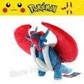 45 cm Pokemon Center Nova adorável Brinquedos Mega Evolução Salamence Macio Stuffed Plush Boneca Dos Desenhos Animados Presente de Natal para o Miúdo Por Atacado