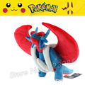 45cm Pokemon Center New lovely Toys Mega Evolution Salamence Soft Stuffed Plush Doll Cartoon Christmas Gift for Kid Wholesale