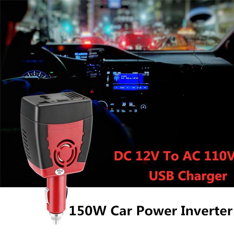 1500W  DC12V to AC110V Portable Power Charger  Inverter  For Car Truck Pickup