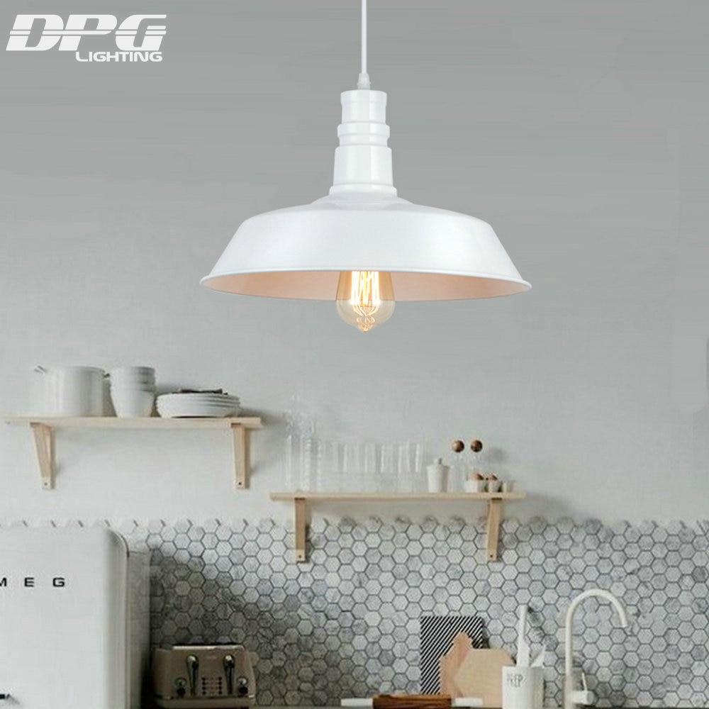 Podstrešje D 26,36,46cm Vintage industrijski obesek razsvetljava LED - Notranja razsvetljava - Fotografija 5