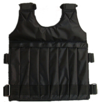 High quality bear load vest Physical training vest Invisible Weight bearing sandbag Running sand vests
