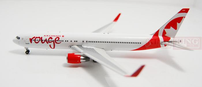Phoenix 10955 Air Canada C-FMWU ROUGE 1:400 B767-300W commercial jetliners plane model hobby new phoenix 11207 b777 300er pk gii 1 400 skyteam aviation indonesia commercial jetliners plane model hobby