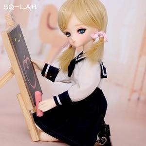 Image 3 - OUENEIFS SQ Lab Chibi Tsubaki 31cm 1/6 BJD SD Resin Model Baby Girls Boys Dolls Eyes High Quality Toys Shop Figures Gifts