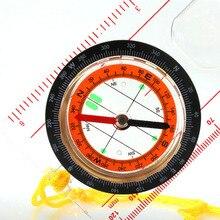Походный транспортир кемпинг компас линейка с лупой опорная плита компас с шейным ремешком NG4S
