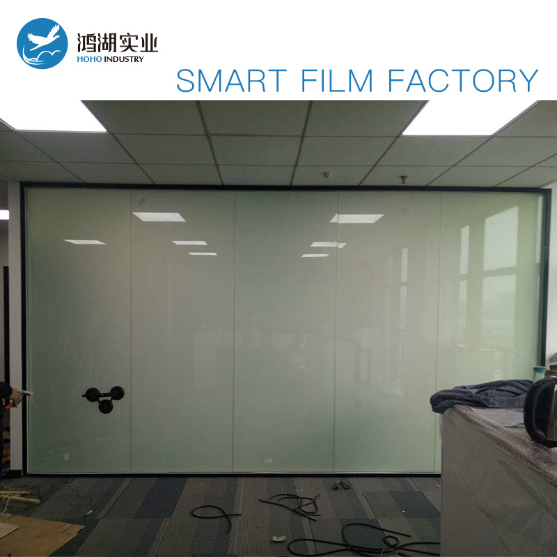 Customize 150cm x 200cm Smart Pdlc film for Window glass decoration Switchable smart film Magical privacy