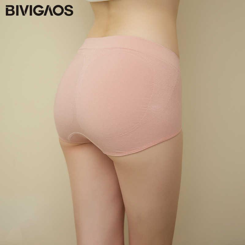 51bd0d2178 ... BIVIGAOS New 3D Honeycomb Massage Uterus Warm Underwear Women Seamless Cotton  High Waist Briefs Hip Up ...