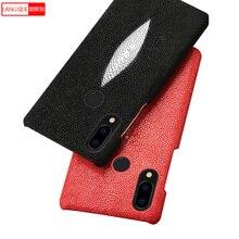 Genuine Leather Pearl fish pattern all inclusive phone case for Huawei Nova 3  Nova 2s  mate10 pro mate9 Glory V10 Fashion case