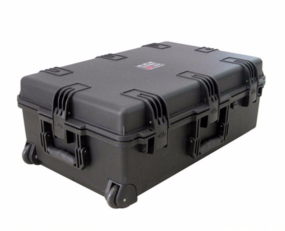 Tricases factory OEM/ODM hard IP67 plastic large suitcase trolley tool case with pre-cut foam M2950 tricases factory oem odm waterproof hard plastic case profession trolley tool cases m2360
