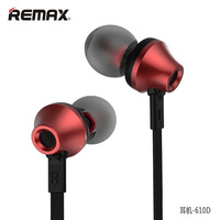 Remax RM 610D In-Ear Écouteur Filaire Musique Mode Haute Performance écouteurs avec Microphone Ligne de Contrôle Écouteurs Pour Smartphone
