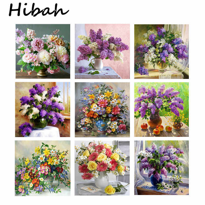 5d diy Diamond Cross Stitch Kit Diamond Embroidery Home Decor Flower Home Fragrance Mosaic Pattern