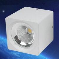 Dimmable LED Downlight 3W 5W 7W 10W 12W 15W Spot LED DownLight NO Dimmable 220V LED Spot Downlight White house