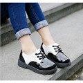 2017 new classic niños muchachas de los muchachos de moda de alta calidad de la pu shoes shoes 2 color para niños 1-12y