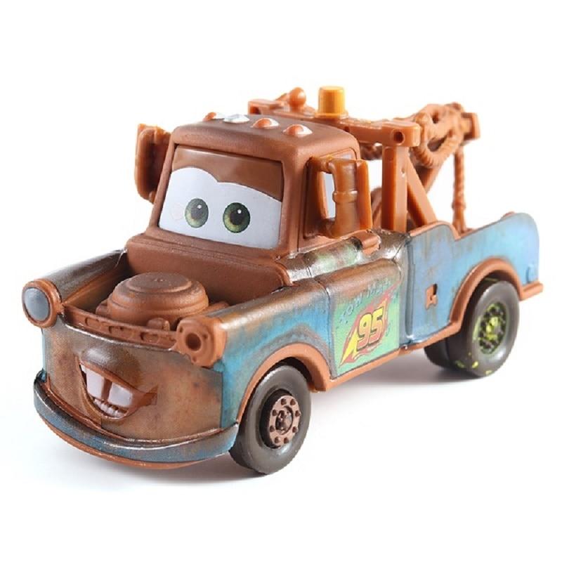 Disney Cars 3 Pixar Cars Race Team Mater Metal Diecast Toy Car 1:55 Lightning McQueen Boy Gift Girl Free Shipping