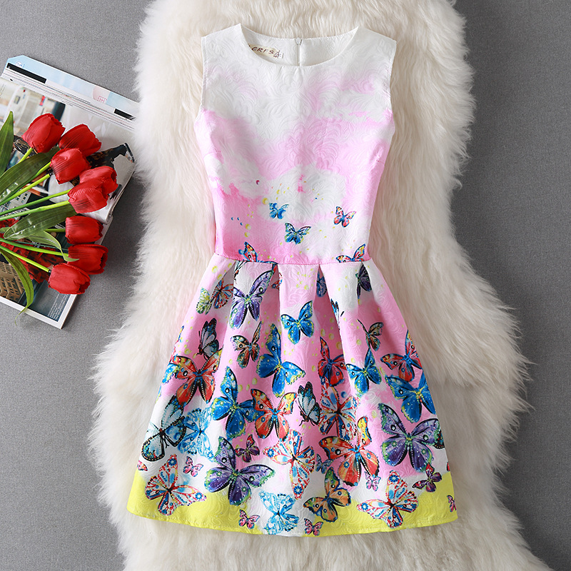 Sıcak Stil Yaz Kadın Moda Giyim Bayanlar Elbise Seksi Parti - Bayan Giyimi - Fotoğraf 2