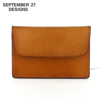 Credit Card Holder Coin Purses Top Cow Leather Mini Men Purse Vintage Women Wallets Coin Pouch