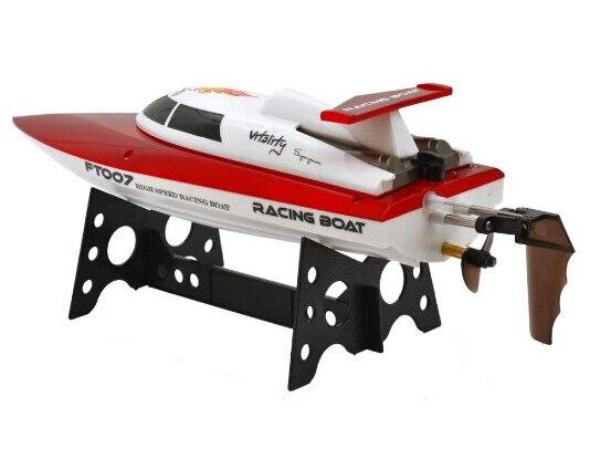 F17890/1 FeiLun FT007 2.4G 4CH Volteado RC Barco Lancha Control Remoto de Carreras de Alta Velocidad de Enfriamiento de Agua con velocidad de 25 KM/H