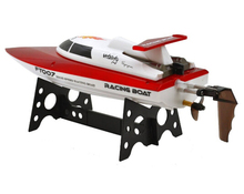 FeiLun FT007 2 4G 4CH High Speed Racing Flipped RC Boat Remote Control Speedboat Water Cooling