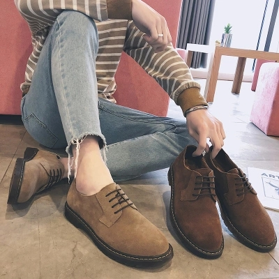 spring new simple men's shoes casual retro shoes shoes