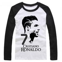 2016 Summer World Cup Cristiano Ronaldo Men S Long Sleeve T Shirt Survetement Footbal Bodybuilding Camiseta