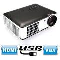 Wimius Full HD 1080 P LED Proyector 2800 lúmenes 1280*800 del Teatro Casero proyectores Beamer HDMI * 2/USB * 2/AV/VGA/YPb
