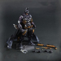 26cm Elsadou Play Arts DC Super Hero Batman The Joker Cosplay Action Figures PA Doll brinquedos Toys