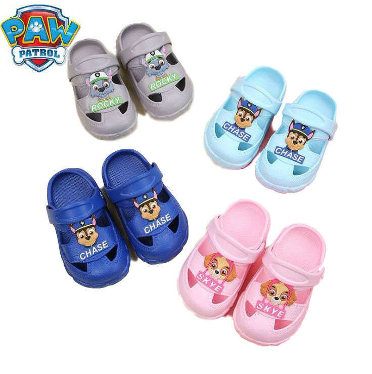 2019 Genuine Paw Patrol Summer Fashion New Children's Cartoon Characters Shoes Boys And Girls Antiskid Baby Slippers Beach TOY