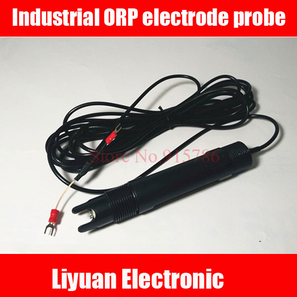 Industrial ORP electrode probe 1999mv 1999mv ORP detector ORP redox potential meter