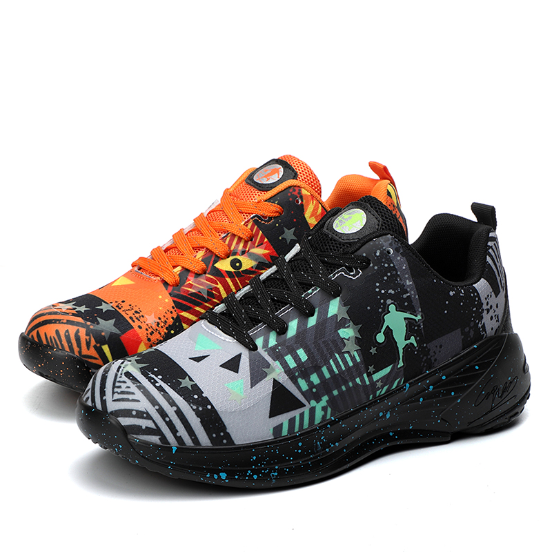 Basketball Shoes Breathable Men Sneakers Sport Shoes Chaussures De Basket Two-tone Men Shoes Basketball Sneakers Big Size:36-47