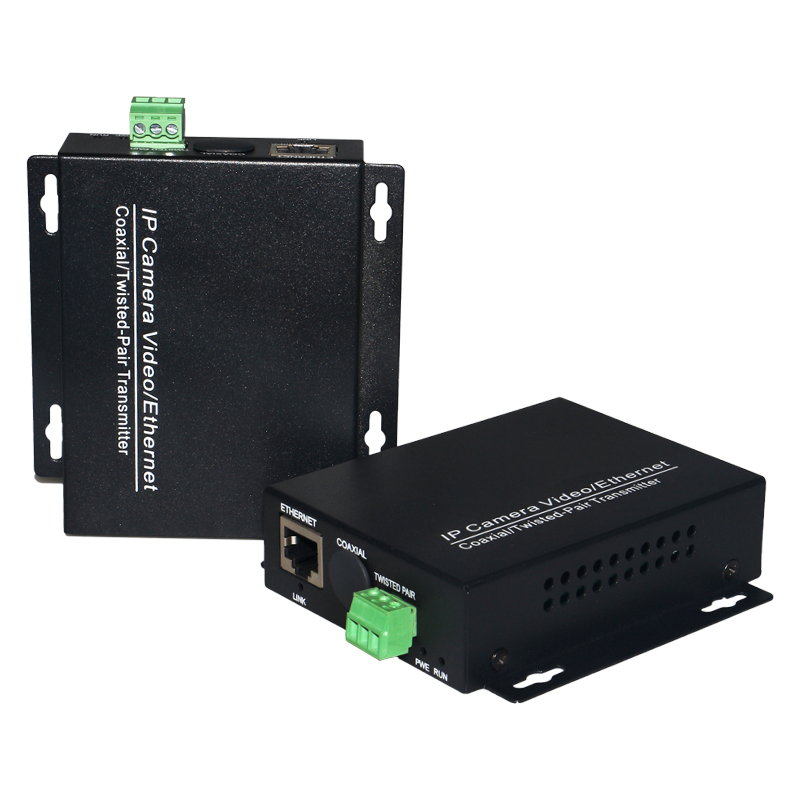 Ethernet Extender Over Twisted Pair Converter 2KM For IP Cameras IP Video Transmitter Over Twisted Pair