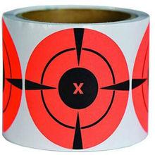 цена на 2019 New Trend Fluorescent Red Shooting Target Stickers (Qty 250 PCs 3
