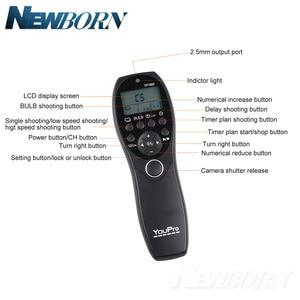 Image 5 - Youpro YP 880 s2 câmera com fio temporizador de liberação do obturador controle remoto display lcd para sony a58 NEX 3NL a7 a7r a3000 a5000 a6000