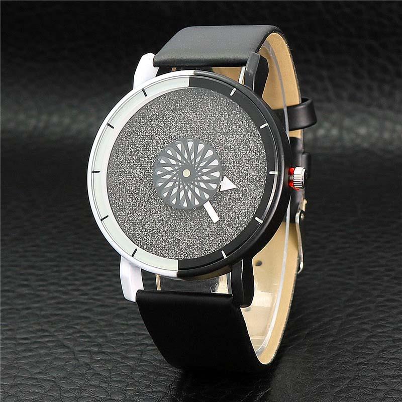 Unik Kvinnor Armband Klocka Enkel Casual Dubbelfärg Flash Dial Watch - Damklockor - Foto 3
