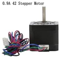 Anet 0.9A 40mm*42mm High Torque Hybrid 42 Stepper Motor NEMA17 For for CNC XYZ REPRAP Makerbot 3D Printer Kit