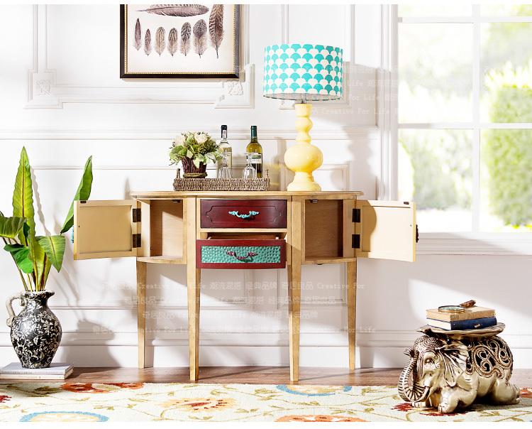 Halfronde Tafel Sidetable : Oneven gelederen retro meubels kleur seattle woonkamer hal halfronde