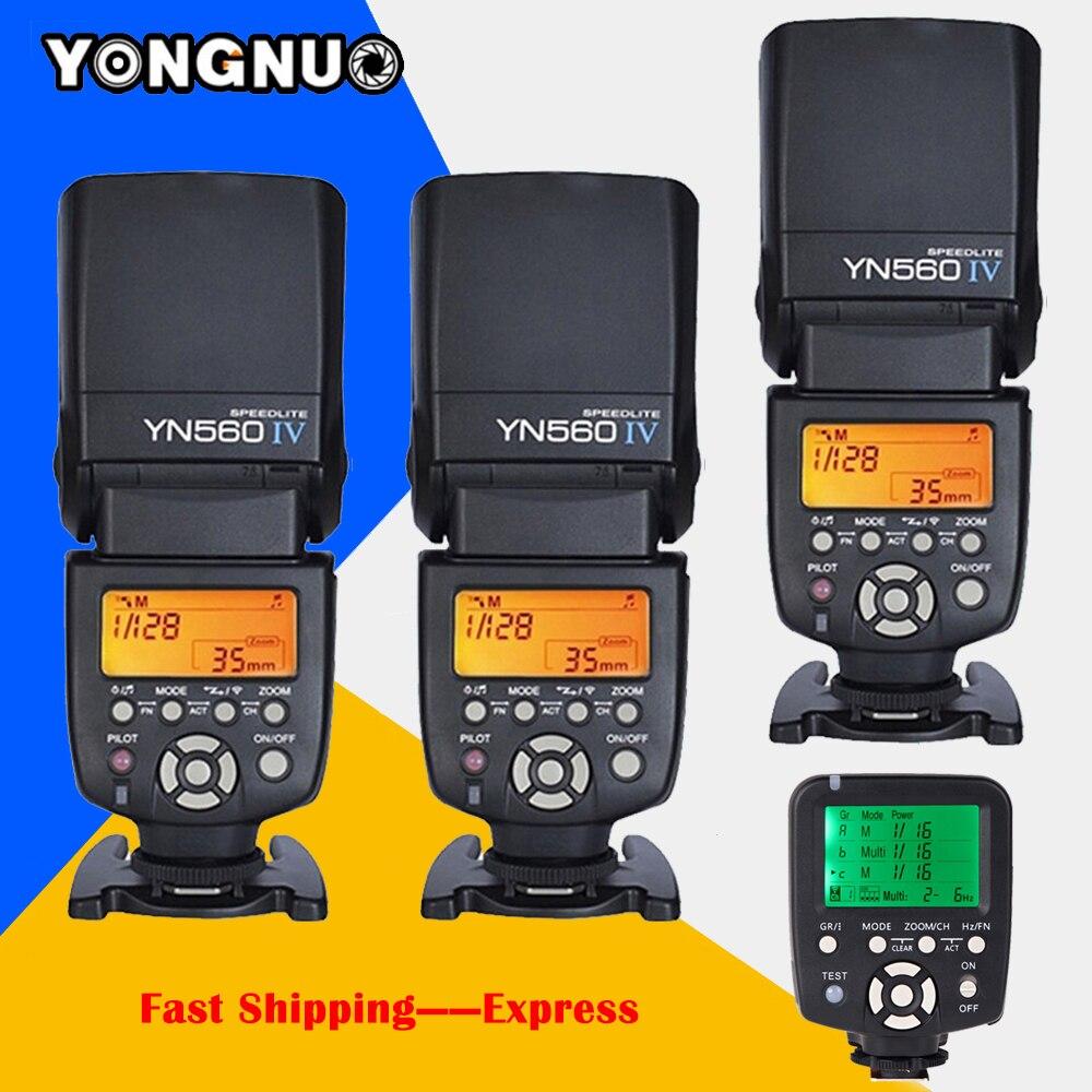 YONGNUO YN-560 IV Flash Speedlite Wireless Master 2.4GHz